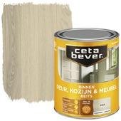 Cetabever binnenbeits deur, kozijn en meubel transparant kalk zijdeglans 750 ml