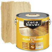 Cetabever vloer - & parketlak transparant blank zijdeglans 2,5 l
