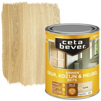 Cetabever binnenbeits deur, kozijn & meubel transparant blank glans 750 ml