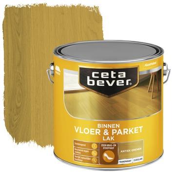 Cetabever vloer- & parketlak transparant antiek grenen zijdeglans 2,5 l