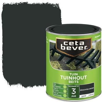 Cetabever tuinhoutbeits dekkend grachten groen zijdeglans 750 ml
