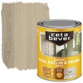 Cetabever binnenbeits deur, kozijn en meubel transparant grijs zijdeglans 750 ml