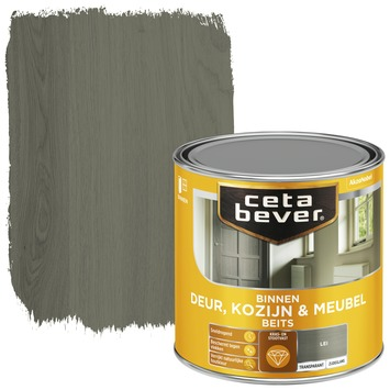 Cetabever binnenbeits deur, kozijn en meubel transparant lei zijdeglans 250 ml