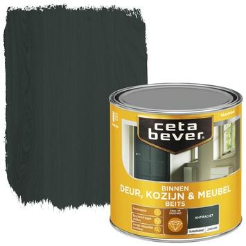 Cetabever binnenbeits deur, kozijn en meubel transparant antraciet zijdeglans 250 ml