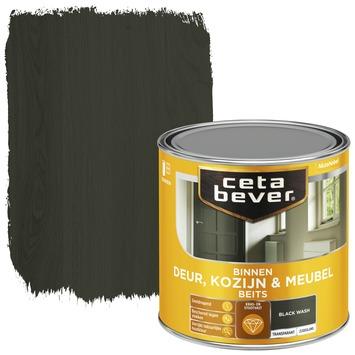 Cetabever binnenbeits deur, kozijn en meubel transparant black wash zijdeglans 250 ml
