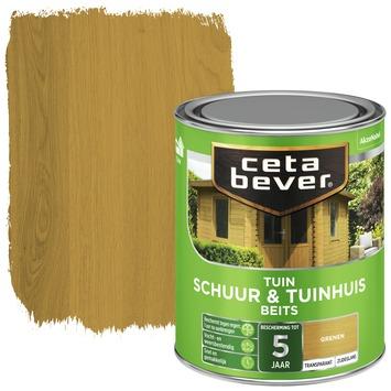 Cetabever tuinbeist schuur & tuinhuis transparant grenen zijdeglans 750 ml