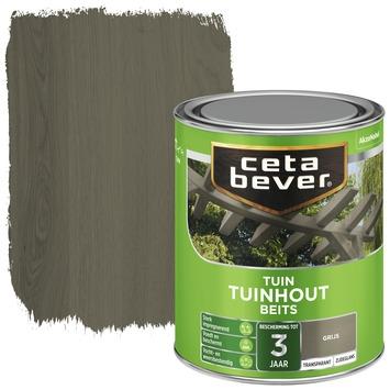 Cetabever tuinhoutbeits transparant grijs zijdeglans 750 ml
