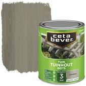 Cetabever tuinhoutbeits transparant licht grijs zijdeglans 750 ml