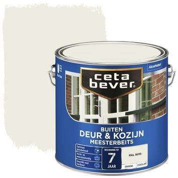 Cetabever meesterbeits deur & kozijn dekkend RAL 9010 gebroken wit zijdeglans 2,5 l