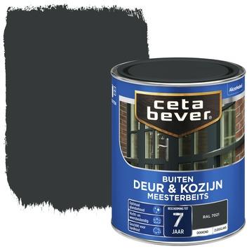 Cetabever meesterbeits deur & kozijn dekkend RAL 7021 zwartgrijs zijdeglans 750 ml