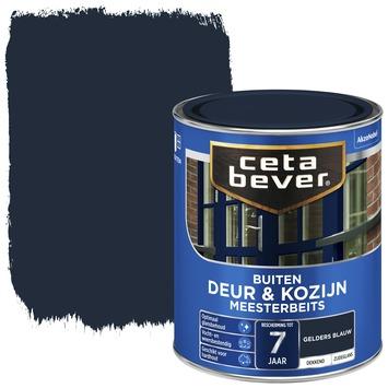Cetabever meesterbeits deur & kozijn dekkend gelders blauw zijdeglans 750 ml