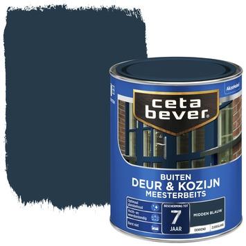 Cetabever meesterbeits deur & kozijn dekkend midden blauw zijdeglans 750 ml