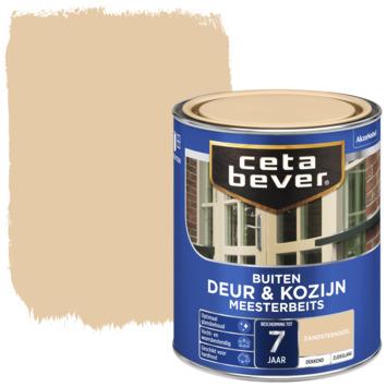 Cetabever meesterbeits deur & kozijn dekkend zandsteengeel zijdeglans 750 ml