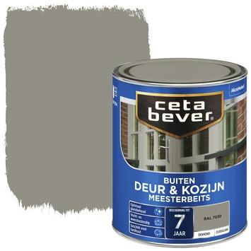 Cetabever meesterbeits deur & kozijn dekkend RAL 7030 steengrijs zijdeglans 750 ml