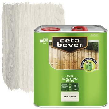Cetabever schuttingbeits white wash 2,5 l