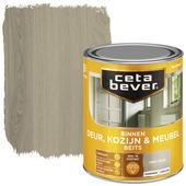 Cetabever binnenbeits deur, kozijn en meubel transparant grey wash zijdeglans 750 ml