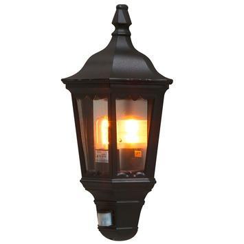 Konstsmide buitenlamp Firenze zwart met bewegingssensor 49.5cm