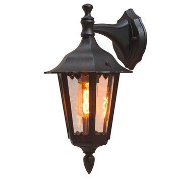 Konstsmide buitenlamp Firenze zwart down 39cm