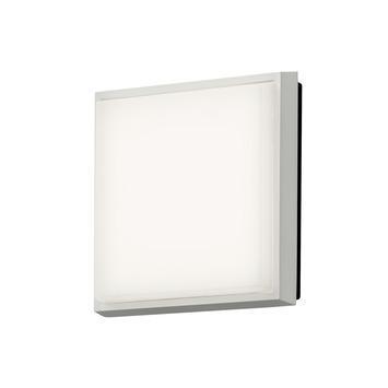 Konstsmide buitenlamp Cesena wit vierkant