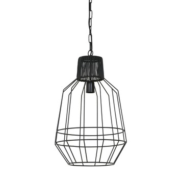 Hanglamp Arlene mat zwart