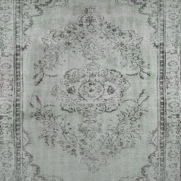 Fotobehang Wandkleed grijs-groen (dessin 89439)