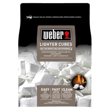 Weber aanmaakblokjes wit 22 stuks