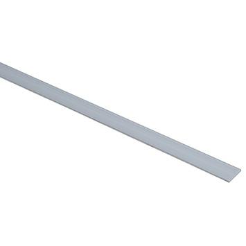 Profiel plat aluminium 20x2mm 100cm