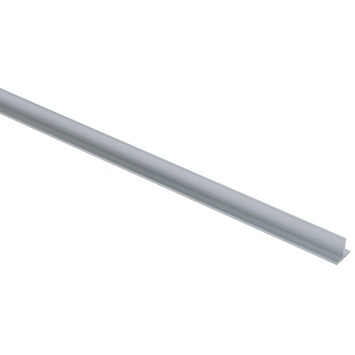 T-profiel aluminium 15x15x2mm 100cm