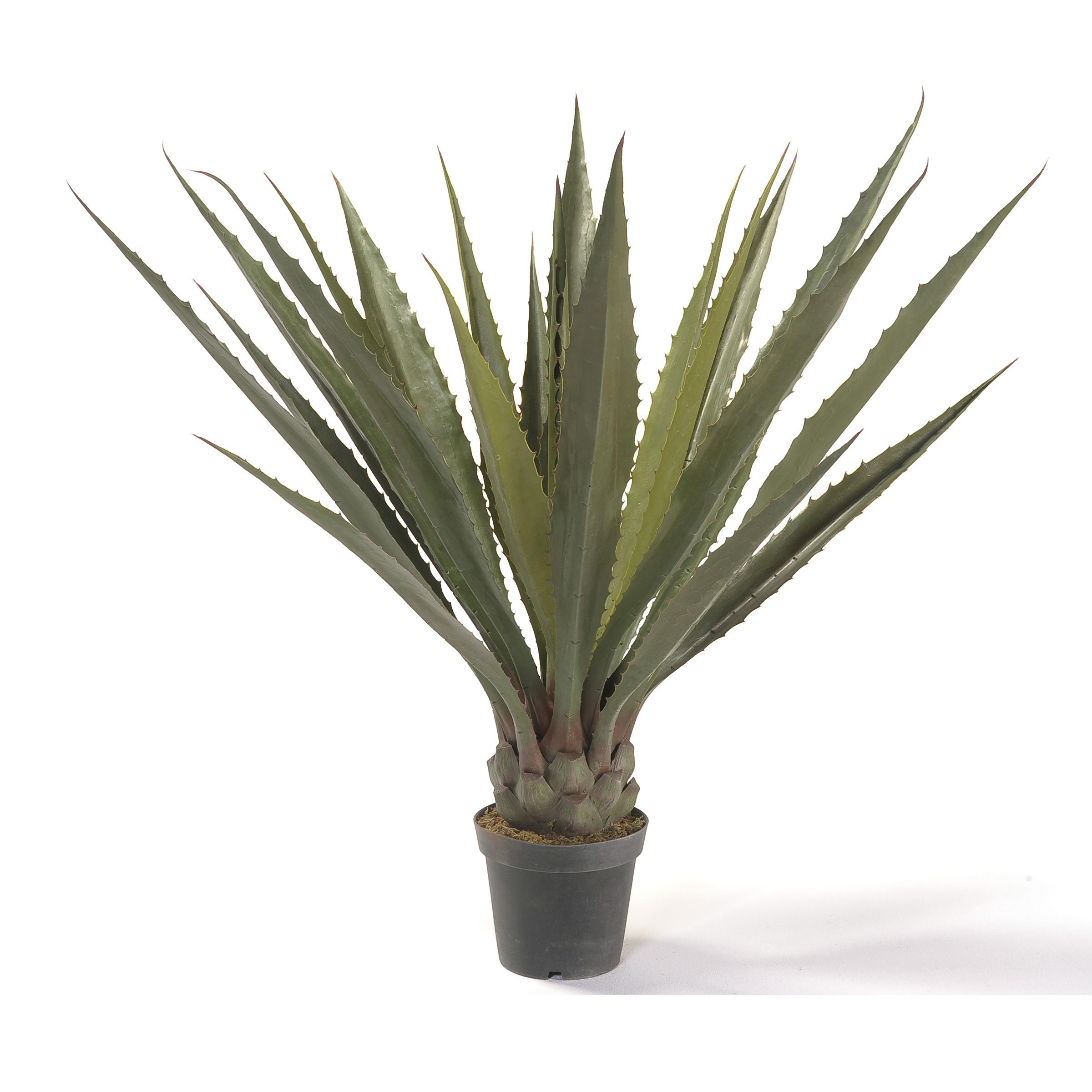 Kunstplant Agave 130 cm in pot