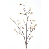 Kunstplant Maple fruit roze 110 cm