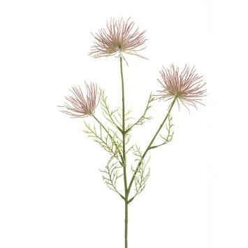 Anemone tak x3 65 cm roze