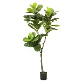 Kunstplant Ficus lyrata 150 cm in pot
