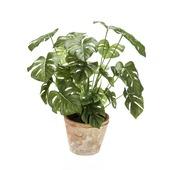 Kunstplant Monstera plant 50 cm in pot