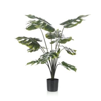 Kunstplant Monstera 80 cm in pot