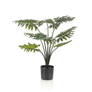 Kunstplant Philodendron 80 cm in pot