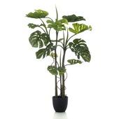 Kunstplant Monstera 120 cm in pot