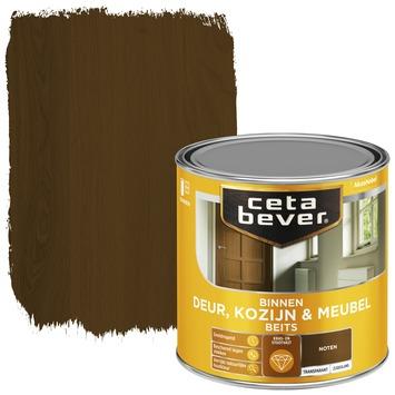 Cetabever binnenbeits deur, kozijn en meubel transparant noten zijdeglans 250 ml