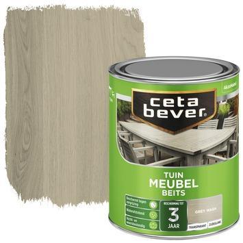 Cetabever tuinmeubelbeits transparant grey wash zijdeglans 750 ml