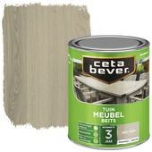Cetabever tuinmeubelbeits transparant grey wash zijdeglans 750 ml