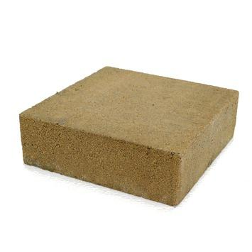 Trommelsteen Beton Plano Geel 21x21x7 cm