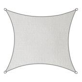 Livin' outdoor schaduwdoek HDPE vierkant 3.6m wit