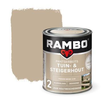 Rambo pantserbeits vintage tuin- en steigerhout poeder beige 750 ml