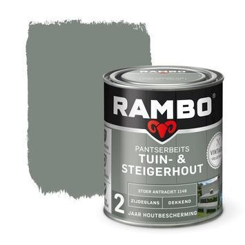 Rambo pantserbeits vintage tuin- en steigerhout stoer antraciet 750 ml