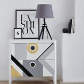 Decoratiefolie mat grijs 200 x 45 cm (346-0636)