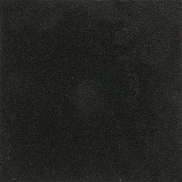Tapijt kamerbreed Le Noir & Blanc  Stockport Zwart 4 meter breed - per cm