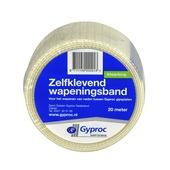 Gyproc wapeningsband zelfklevend wit 20 m wit