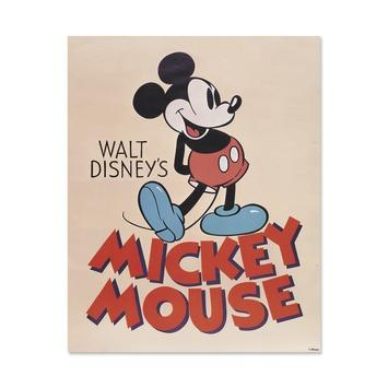 Canvas Mickey Mouse 50x40 cm