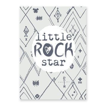 Poster Little Rock Star 50 x 70 cm