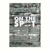 Poster On The Spot Cool Grey 50 x 70 cm