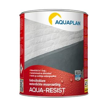 Aquaplan Aqua-resist buitenmuurcoating grijs 4 liter